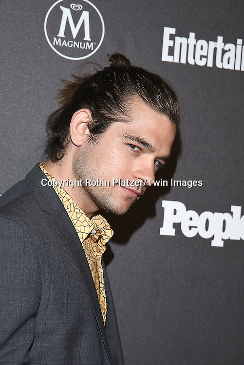 Jason Ralph attends the Entertainment Weekly &amp; PEOPLE Magazine New York Upfronts Celebration on May 16, 2016 at Cedar Lake in New York, New York, USA.<br /> <br /> photo by Robin Platzer/Twin Images<br />  <br /> phone number 212-935-0770