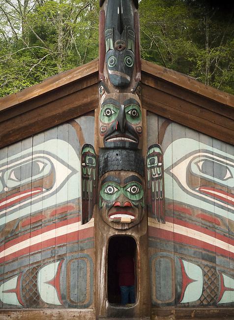 Totem house, Ketchikan