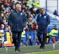 Sheffield Wednesday manager Steve Bruce prowls the touchline<br /> <br /> Photographer David Shipman/CameraSport<br /> <br /> The EFL Sky Bet Championship - Sheffield Wednesday v Blackburn Rovers - Saturday 16th March 2019 - Hillsborough - Sheffield<br /> <br /> World Copyright &copy; 2019 CameraSport. All rights reserved. 43 Linden Ave. Countesthorpe. Leicester. England. LE8 5PG - Tel: +44 (0) 116 277 4147 - admin@camerasport.com - www.camerasport.com
