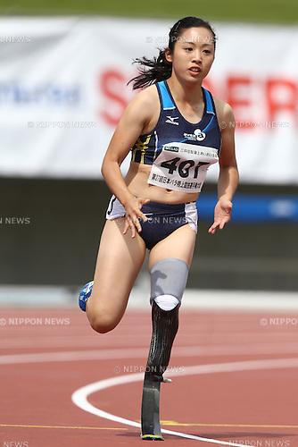 Saki Takakuwa,<br /> MAY 1, 2016 - Athletics :<br /> Japan Para Athletics Championships<br /> Women's 200m T44 Final<br /> at Coca Cola West Sports Park, Tottori, Japan.<br /> (Photo by Shingo Ito/AFLO SPORT)