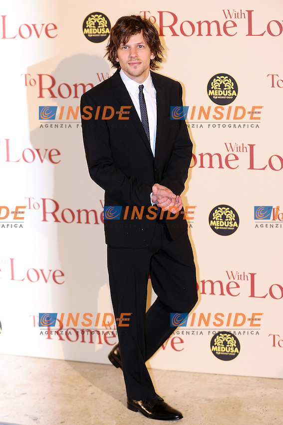 Jesse Eisenberg.Roma 13/4/2012 Auditorium.To Rome with Love - World Premiere.Foto Insidefoto Andrea Staccioli