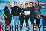 Kevin Flannery, Jess Van Esch, Louise Overy, Susan Barry, Suzanne Hall and Maire Ó Sé from Dingle Oceanworld who received the Clean Coasts' Ocean Hero, Business of the Year, Award by An Taisce.