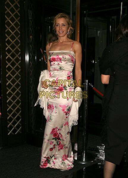 FELICITY HUFFMAN.The Orange British Academy Film Awards aftershow & Grosvenor House Hotel, London, UK..February 19th, 2006.Ref: AH.full length white pink floral print dress.www.capitalpictures.com.sales@capitalpictures.com.© Capital Pictures.