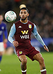 Douglas Luiz of Aston Villa during the Carabao Cup match at the King Power Stadium, Leicester. Picture date: 8th January 2020. Picture credit should read: Darren Staples/Sportimage