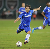 Frank Lampard (8) of Chelsea FC.  Chelsea FC defeated AS Roma 2-1, during an international friendly , at RFK Stadium, Saturday August 10 , 2013.