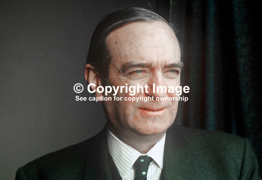 Brian Rankin, chairman, Community Relations Commission, N Ireland, May, 1972, 197205000332<br /> <br /> Copyright Image from Victor Patterson, 54 Dorchester Park, Belfast, UK, BT9 6RJ<br /> <br /> t1: +44 28 9066 1296<br /> t2: +44 28 9002 2446<br /> m: +44 7802 353836<br /> <br /> e1: victorpatterson@me.com<br /> e2: victorpatterson@gmail.com<br /> <br /> www.victorpatterson.com<br /> <br /> IMPORTANT: Please see my Terms and Conditions of Use at www.victorpatterson.com