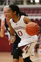 STANFORD, CA - NOVEMBER 7:  Melanie Murphy of the Stanford Cardinal during Stanford's 87-41 win over Vanguard on November 7, 2008 at Maples Pavilion in Stanford, California.
