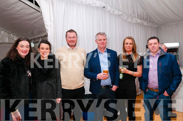 Finuge GAA Club Dinner Dance: Attending the Finuge GAA Club dinner dance in the marquee on saturday night last were Bridget Liston. Aoife Thornton, Conor Galvin. Paul & Tina Breen & Maurice Lyons.