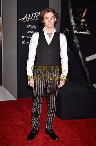 WESTWOOD, CA - FEBRUARY 05: Britain Dalton attends the Premiere Of 20th Century Fox's 'Alita: Battle Angel' at Westwood Regency Theater on February 05, 2019 in Los Angeles, California.<br /> CAP/ROT/TM<br /> ©TM/ROT/Capital Pictures