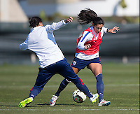 USWNT Training, Thursday, February 26, 2015