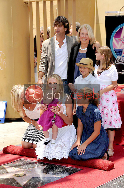 Cameron Diaz and family<br />