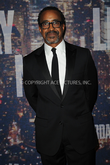 WWW.ACEPIXS.COM<br /> February 15, 2015 New York City<br /> <br /> Tim Meadows walks the red carpet at the SNL 40th Anniversary Special at 30 Rockefeller Plaza on February 15, 2015 in New York City.<br /> <br /> Please byline: Kristin Callahan/AcePictures<br /> <br /> ACEPIXS.COM<br /> <br /> Tel: (646) 769 0430<br /> e-mail: info@acepixs.com<br /> web: http://www.acepixs.com