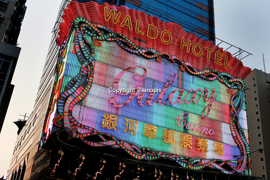 The Galaxy Casino and Waldo Hotel in Macau.<br /> May 08, 2007