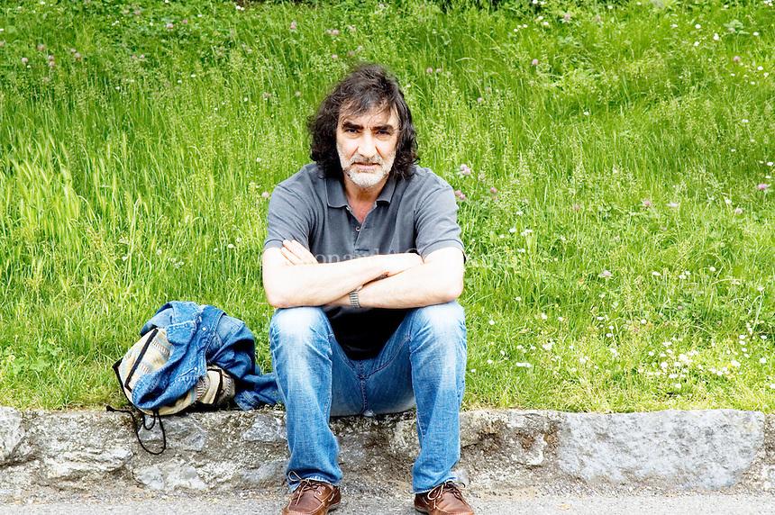 Ezio Vendrame, italian writer, Como, 2005. © Leonardo Cendamo