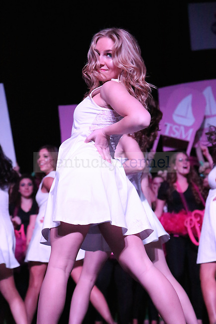 Kappa Kappa Gamma kills their routine with Total Sorority Move in Lexington, Ky., on (date). Photo by Lydia Emeric   Staff