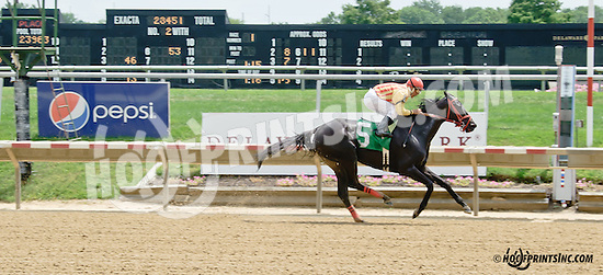 With Class winning at Delaware Park on 7/23/14