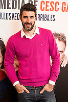 "David Amor attends to the premiere of the theater play ""Los Vecinos de Arriba"" of the director Cesc Gayt at Teatro La Latina in Madrid. April 13, 2016. (ALTERPHOTOS/Borja B.Hojas)"
