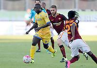 Raman Chibsah Daniele De Rossi during italian serie a soccer match between Frosinone e Roma