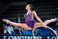 September 7, 2015 - Stuttgart, Germany -  DORA VASS of Hungary performs during AA qualifications at 2015 World Championships.