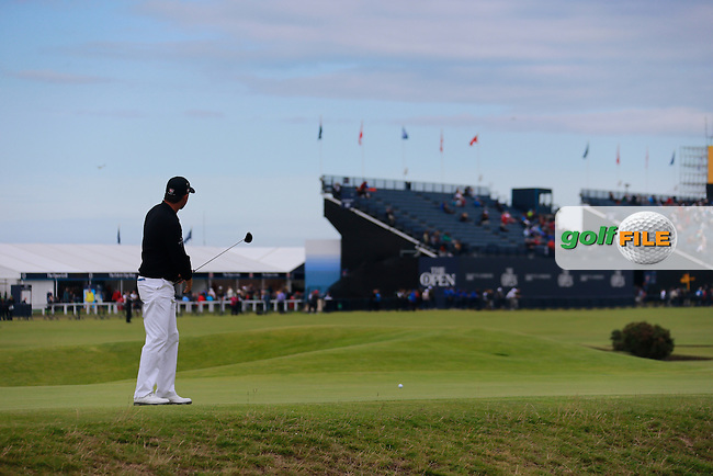 Padraig HARRINGTON (IRL)  on the 17th during the 3rd round on Sunday of the 144th Open Championship, St Andrews Old Course, St Andrews, Fife, Scotland. 19/07/2015.<br /> Picture: Golffile | Fran Caffrey<br /> <br /> <br /> All photo usage must carry mandatory copyright credit (&copy; Golffile | Fran Caffrey)
