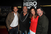 Jamie Bamber, Edward James Olmos, Mary McDonnell, Ronald D. Moore<br /> at the Hero Complex Film Festival: Battlestar Galactica Screening and cast Q&A, Chinese 6, Hollywood, CA 05-30-14<br /> David Edwards/DailyCeleb.com 818-249-4998
