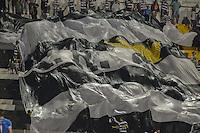 PIRACICABA,SP,29.03.2015 - XV DE PIRACICABA x PONTE PRETA - A torcida comemora o gol durante a partida entre XV de Piracicaba e Ponte Preta válida pelo Campeonato Paulista 2015 13ª rodada, no Estádio Barão de Serra Negra. (Foto: Mauricio Bento/Brazil Photo Press)