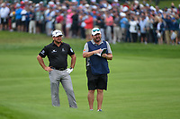 Graeme McDowell (NIR) looks over his approach shot on 2 during round 1 of the 2019 US Open, Pebble Beach Golf Links, Monterrey, California, USA. 6/13/2019.<br /> Picture: Golffile | Ken Murray<br /> <br /> All photo usage must carry mandatory copyright credit (© Golffile | Ken Murray)