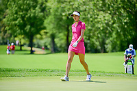 Michelle Wie (USA) approaches number 1 green during Saturday's round 3 of the 2017 KPMG Women's PGA Championship, at Olympia Fields Country Club, Olympia Fields, Illinois. 7/1/2017.<br /> Picture: Golffile | Ken Murray<br /> <br /> <br /> All photo usage must carry mandatory copyright credit (&copy; Golffile | Ken Murray)