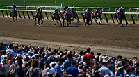 ELMONT, NY - JUNE 10: The crowd during the Woody Stephens Stakes on Belmont Stakes Day at Belmont Park on June 10, 2017 in Elmont, New York (Photo by Scott Serio/Eclipse Sportswire/Getty Images)