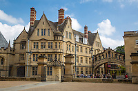 UK, England, Oxford.  Bridge of Sighs, Linking Two Buildings of Hertford College.