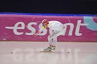 SCHAATSEN: HEERENVEEN: 20-12-2013, IJsstadion Thialf, KKT Trainingswedstrijd, 1500m, Maurice Vriend, ©foto Martin de Jong