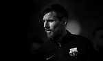 Lionel Messi of FC Barcelona walks off pitch prior during the La Liga 2017-18 match between Real Madrid and FC Barcelona at Santiago Bernabeu Stadium on December 23 2017 in Madrid, Spain. Photo by Diego Gonzalez / Power Sport Images