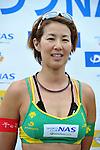 Satoko Urata , (JPN),  .MAY 4, 2012 - Beach Volleyball : JBV Tour 2012 Sports Club NAS Open at Odaiba Beach, Tokyo, Japan. (Photo by Jun Tsukida/AFLO SPORT) [0003]