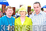 Looking for winners at Killarney Races on Sunday was l-r: John, Kay Dowling and Pat O'Sullivan Killarney   Copyright Kerry's Eye 2008