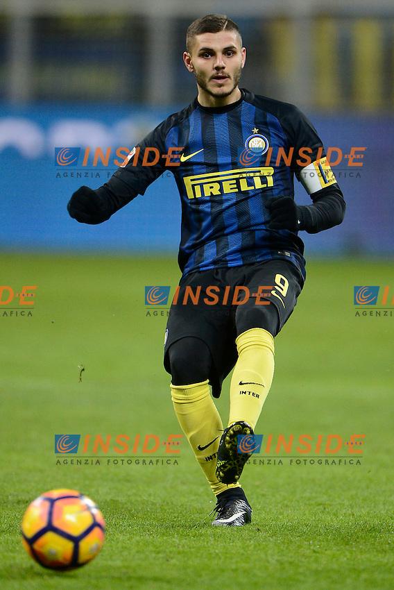 Mauro Icardi Inter<br /> Milano 14-01-2017 Stadio Giuseppe Meazza - Football Calcio Serie A Inter - Chievo Verona. Foto Giuseppe Celeste / Insidefoto
