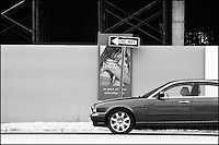 """From """"Walking Downtown"""" series. Collins avenue, Sunny Isles Beach, FL"""