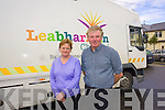 Kerry Mobile Library Service staff include Driver, Timmy Carmody and Librarian Irish Conway