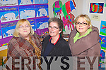 Showing local support was Marie McDermott, Margaret O'Sullivan and Geraldine Neville pictured at the official opening of the new extension to Scoil Chorp Chri?ost in Knockanure last Friday night.