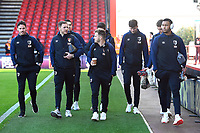 AFC Bournemouth players arrive at the ground during AFC Bournemouth vs Wolverhampton Wanderers, Premier League Football at the Vitality Stadium on 23rd February 2019