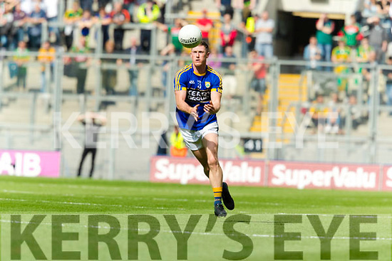 Jonathan Lyne Kerry in action against  Mayo in the All Ireland Semi Final Replay in Croke Park on Saturday.