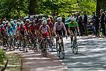 Michael Schaer (SUI, BMC) leading the bunch Amstel Gold Race, 20th April 2014, Photo by Thomas van Bracht / www.pelotonphotos.com