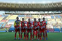 03th November 2019; Kleber Andrade Stadium, Cariacica, Espirito Santo, Brazil; FIFA U-17 World Cup Brazil 2019, Argentina versus Tajikistan; Players of Tajikistan pose for official photo