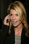 Lori Loughlin Attending a Private party in honor of the WB TV Network's 2004 - 2005 Upfront announcements in New York City.<br />May 17, 2004