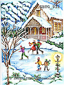 Theresa, CHRISTMAS LANDSCAPES, WEIHNACHTEN WINTERLANDSCHAFTEN, NAVIDAD PAISAJES DE INVIERNO, paintings+++++,GBTG931,#xl#