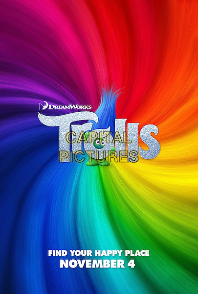 Trolls (2016)<br /> POSTER ART<br /> *Filmstill - Editorial Use Only*<br /> CAP/KFS<br /> Image supplied by Capital Pictures