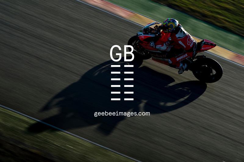 FIM Superbike World Championship, Test, Motorland Aragon, November 2016, Chaz Davies, Ducati