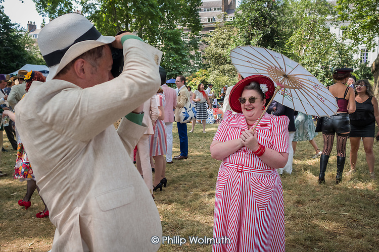 Chaps Olympiad, Bedford Square Gardens, London, Britain's most eccentric sporting event (according to organisers Bourne & Hollingsworth.