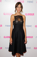 Alexa Chung arrives for the Glamour Women of the Year Awards 2014 in Berkley Square, London. 03/06/2014 Picture by: Steve Vas / Featureflash