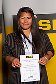 Rugby Union Girls winner Contessah Wright from Auckland Girls Grammar School. ASB College Sport Young Sportsperson of the Year Awards held at Eden Park, Auckland, on November 11th 2010.
