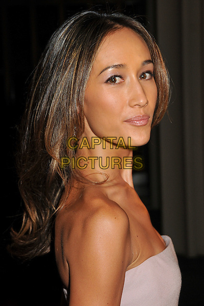 "MAGGIE Q - MAGGIE QUIGLEY.""The September Issue"" Los Angeles Special Screening held at the LA County Museum of Art, Los Angeles, California, USA..September 8th, 2009.headshot portrait purple lilac beige strapless .CAP/ADM/BP.©Byron Purvis/AdMedia/Capital Pictures."